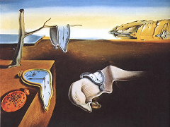 The Persistance of Memory (1931) by Salvador Dali