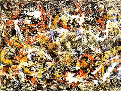 Convergence (1952) by Jackson Pollock.